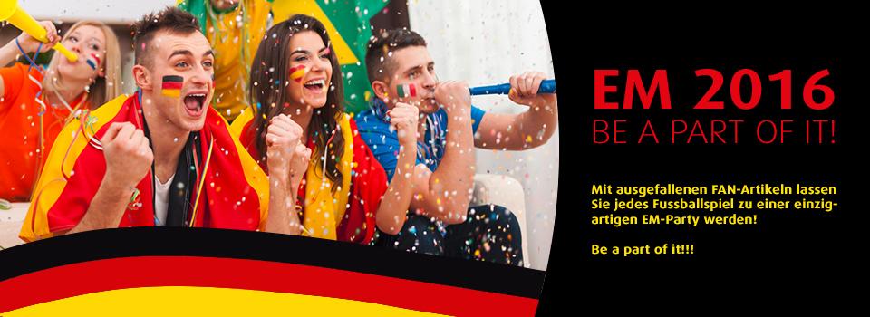Fanartikel Fussball Europameisterschaft 2016
