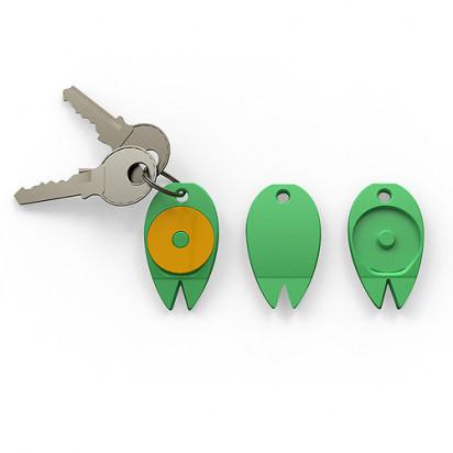 Schlüsselanhänger Zecke