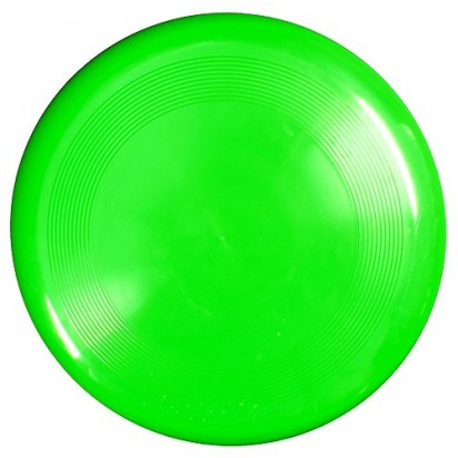 Wurfscheibe Maxi 22, neon-grün