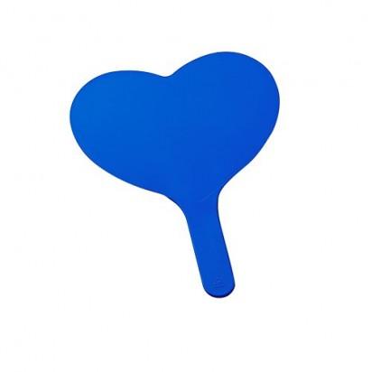 Fächer Herz, blau