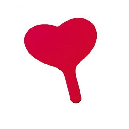 Fächer Herz, rot