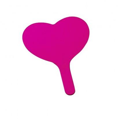 Fächer Herz, pink