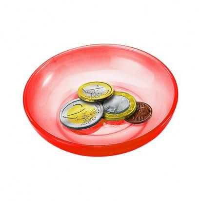 Spielgeldschälchen, trend-rot