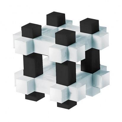 Pussycat 3D-Geduldspiel Käfig, schwarz/weiß