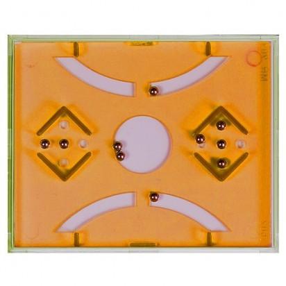 Pussycat Geduldspiel Balls, transparent-orange