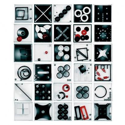 Pussycat Geduldspiel-Set Multiplex, schwarz/weiß