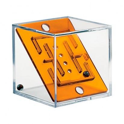 Pussycat Geduldspiel-Set Cubix, transparent-orange