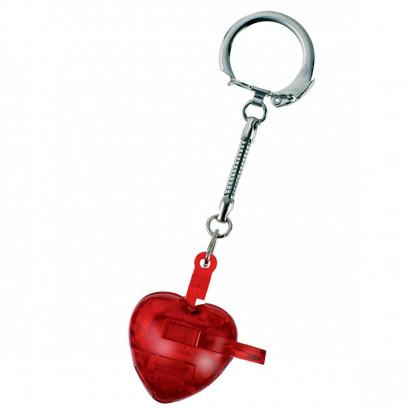 Schlüsselanhänger Knobel-Herz