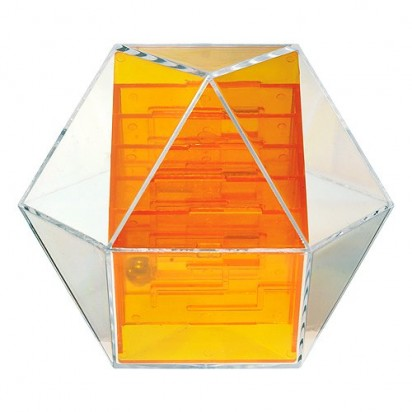 Pussycat Geduldspiel Dymaxion Four, transparent-orange