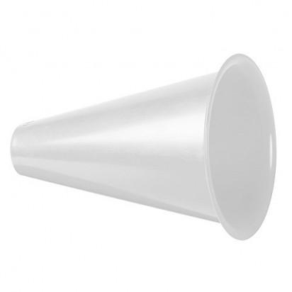 Megaphon Fan Horn, weiß