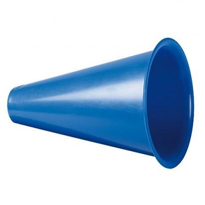 Megaphon Fan Horn, blau