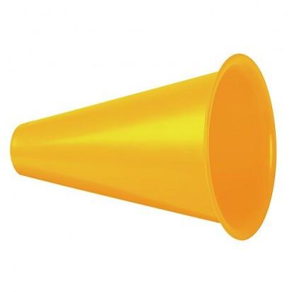 Megaphon Fan Horn, gelb