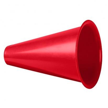 Megaphon Fan Horn, rot