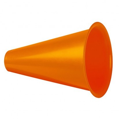 Megaphon Fan Horn, orange