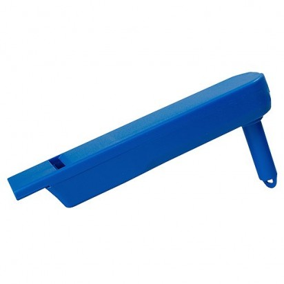 Ratsche Pfeife, blau