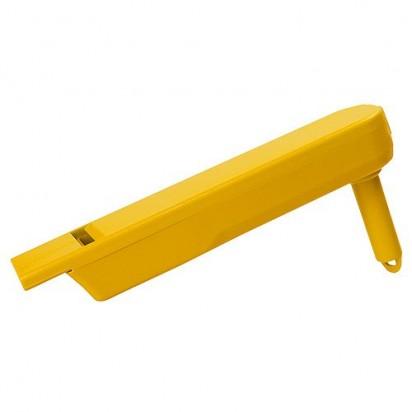 Ratsche Pfeife, gelb