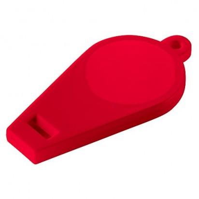 Pfeife Schlüsselanhänger, rot