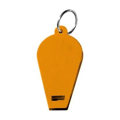 Pfeife Schlüsselanhänger, orange