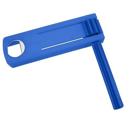 Ratsche Opener, blau