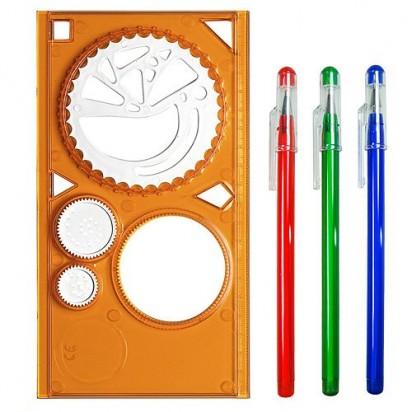 Schablonen-Set Elastograph, trend-orange