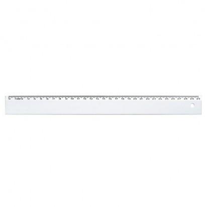Lineal Slim 30, weiß