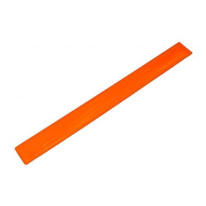 Snap-Armband Mini, transparent-orange