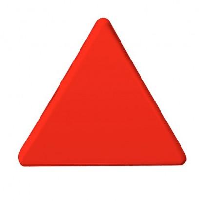 Magnet Dreieck, rot
