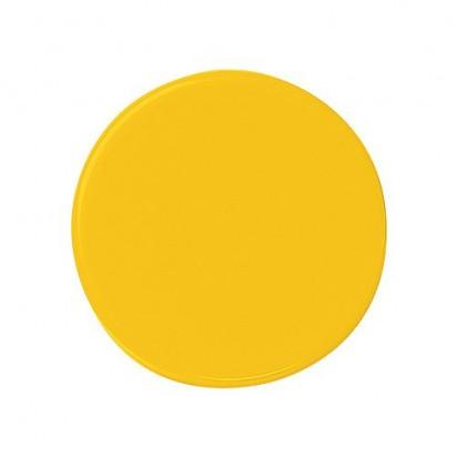 Magnet Rund, gelb