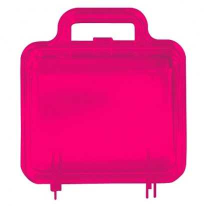 Promotion-Case Bambino, transparent-pink