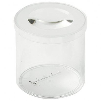 Standlupe Box, transparent