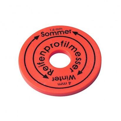 Reifenprofilmesser Chip, rot