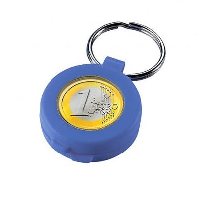 Chip-Schlüsselanhänger Safe, blau