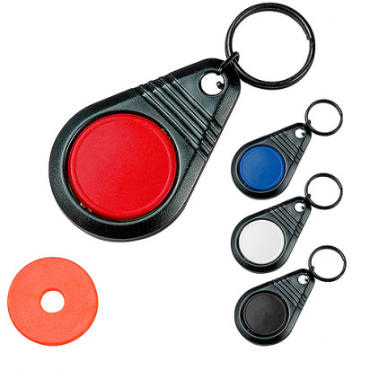 Dreh-Schlüsselanhänger Point mit Chip