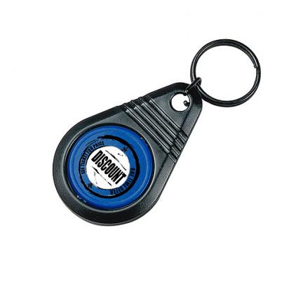 Dreh-Schlüsselanhänger Point ohne Chip