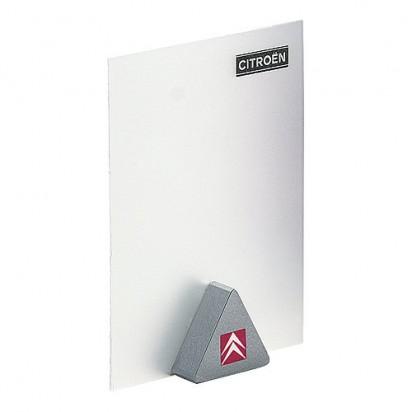 Notizhalter Magnet-Dreieck, silber