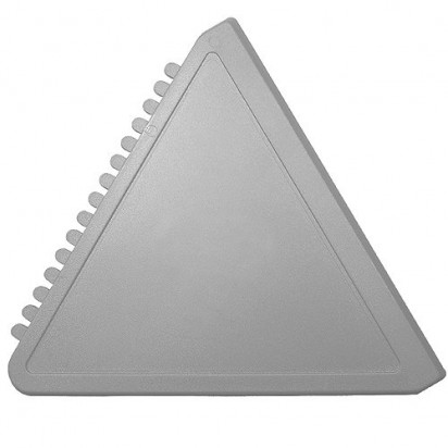 Eiskratzer Dreieck, silber