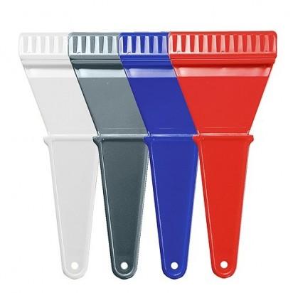 Eiskratzer Easy ohne Wasserabstreifer, transparent-rot