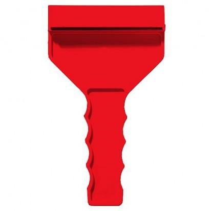 Eiskratzer Grip mit Wasserabstreifer, rot