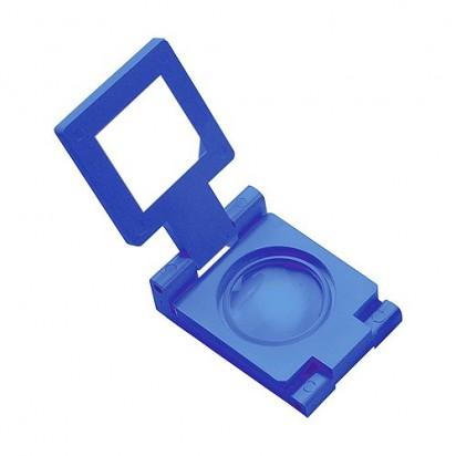 Lupe Fold 5 x, blau
