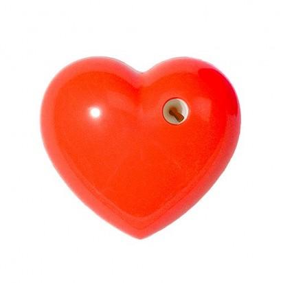 Bleistiftspitzer Herz, rot