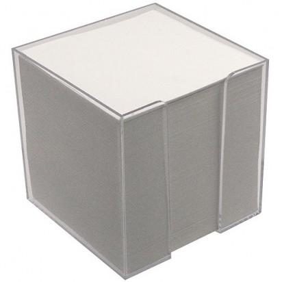 Zettelbox Würfel, transparent
