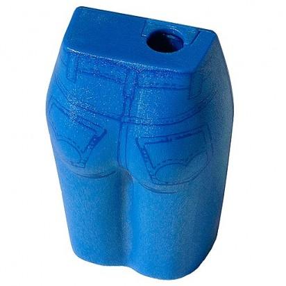 Bleistiftspitzer Jeans, blau