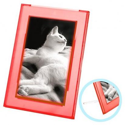Bilderrahmen Lux, transparent-rot