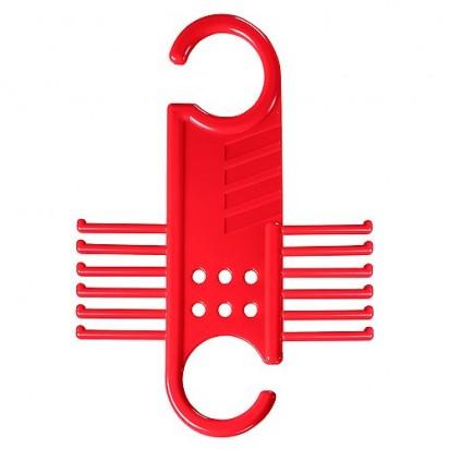 Kleiderbügel Krawatten-Diener, rot