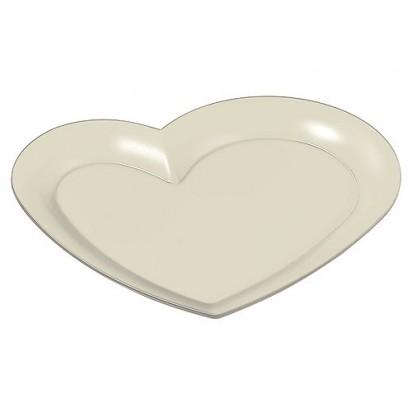 Tablett Maxi-Herz, perlmutt