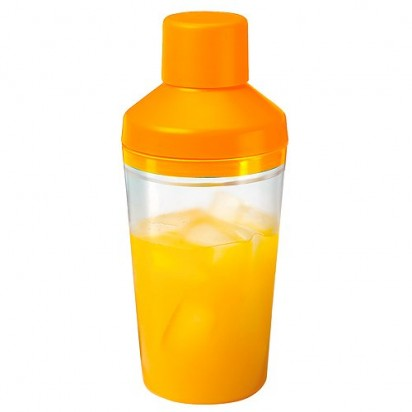 Shaker Bar 450ml, Kappe orange