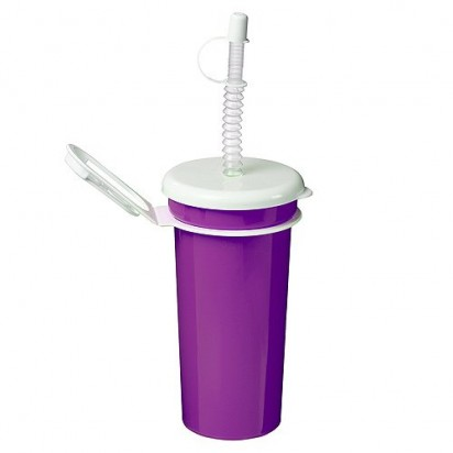 Trinkbecher Take Away 0,5 l, lila