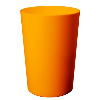Zahnputzbecher Pure, neon-orange
