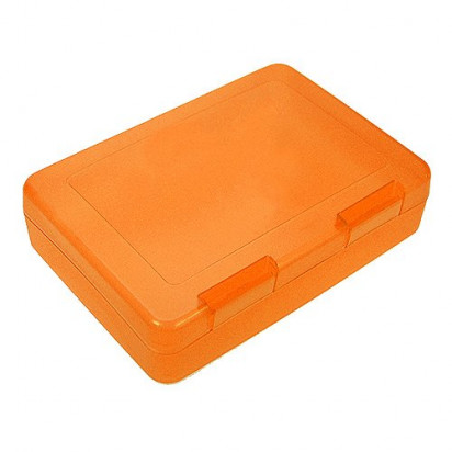Vorratsdose Flat-Box, trend-orange