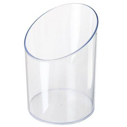 Acrylbox Schütte leer, transparent